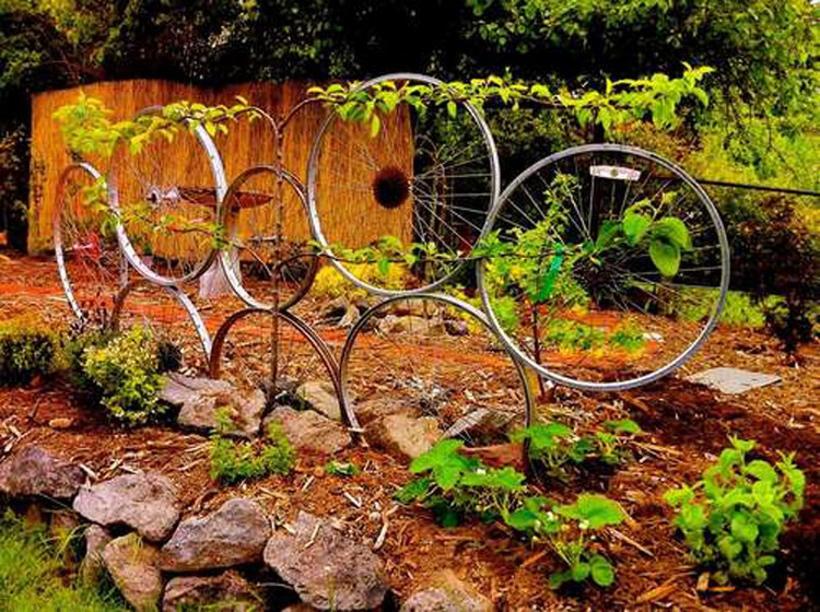 Bike Garden Decor
