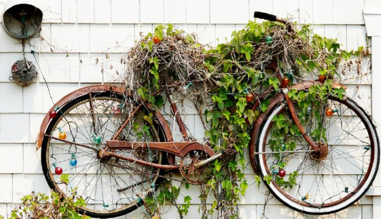 Bike Garden Ideas