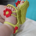 Crochet Baby Sandal Patterns