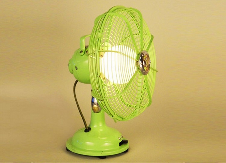 Fan into Lamp