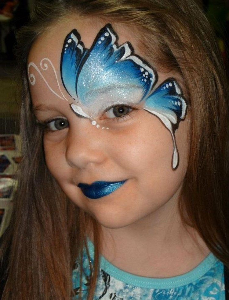 Cute face painting designs for your kids recycled things - Maquillage simple enfant ...