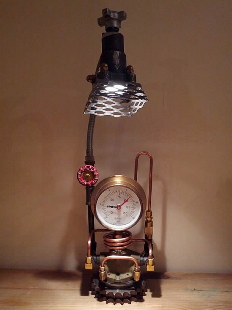 Industrial Clocks and Lamps