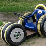 Kids Fun with Recycled Tires