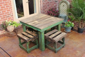 Recycled Pallet Table Ideas