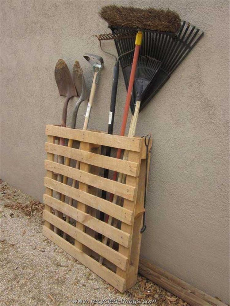 Pallet Tool Rack Ideas