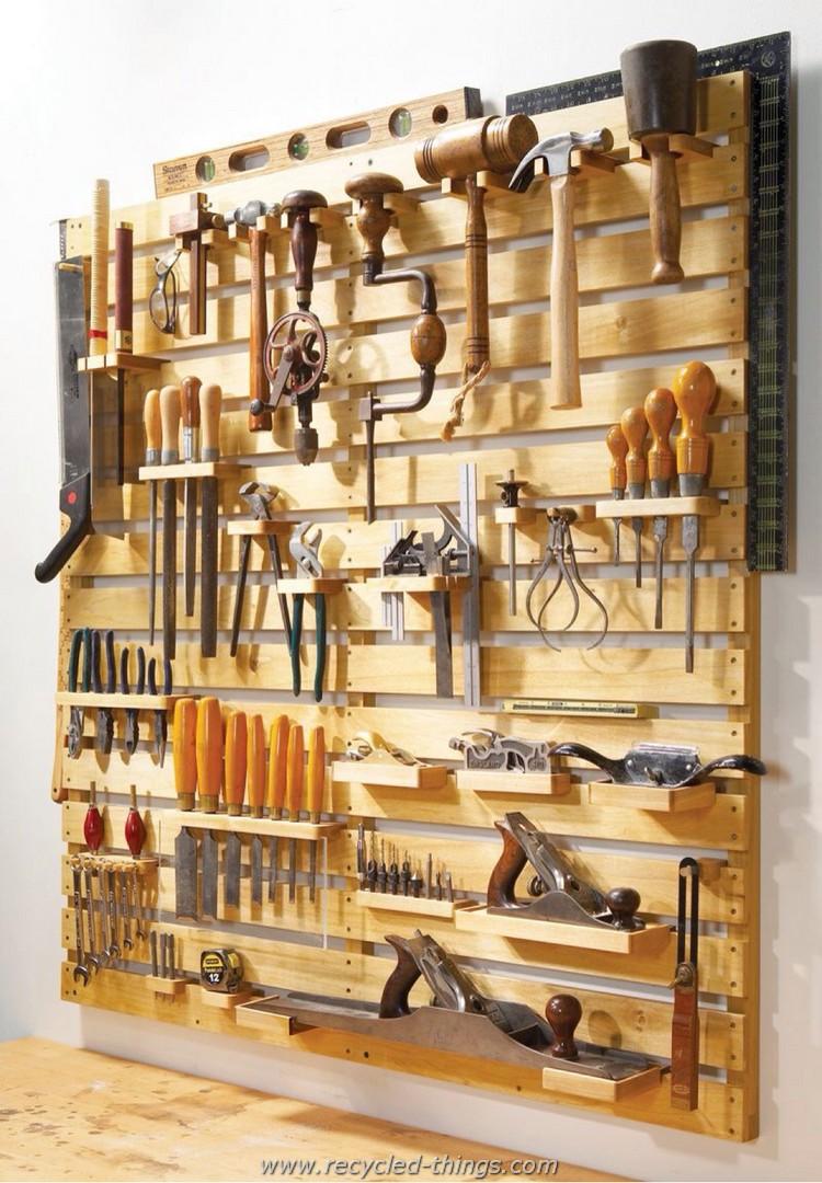 Pallet Tool Rack