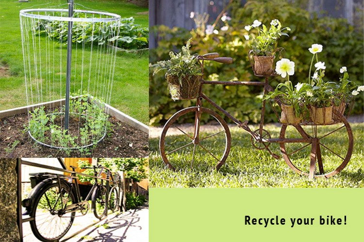 Recycled Bike Ideas