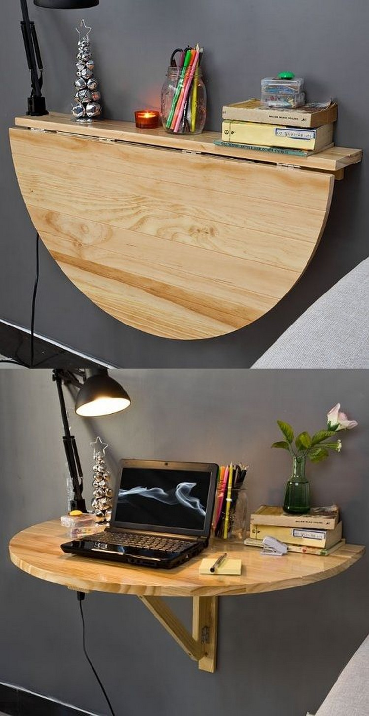 Amazing Round Wall Shelf