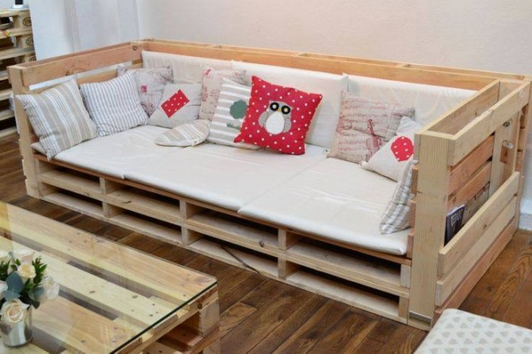 ideas for recycled wood pallet furniture | recycled things