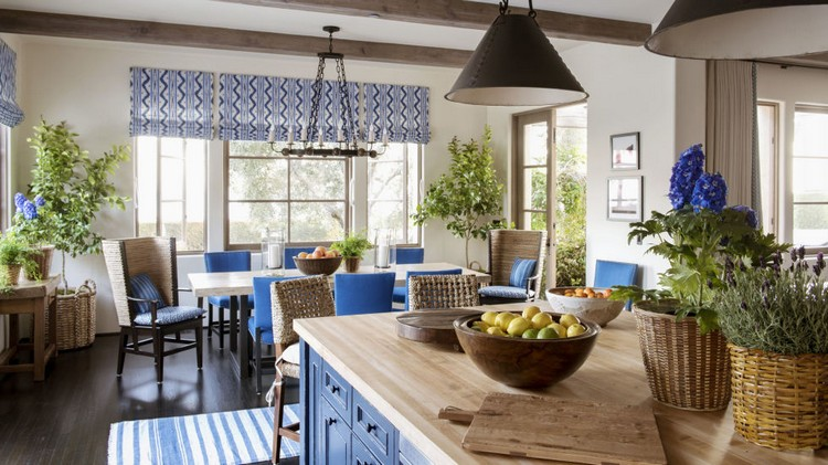Blue White Kitchen Ideas