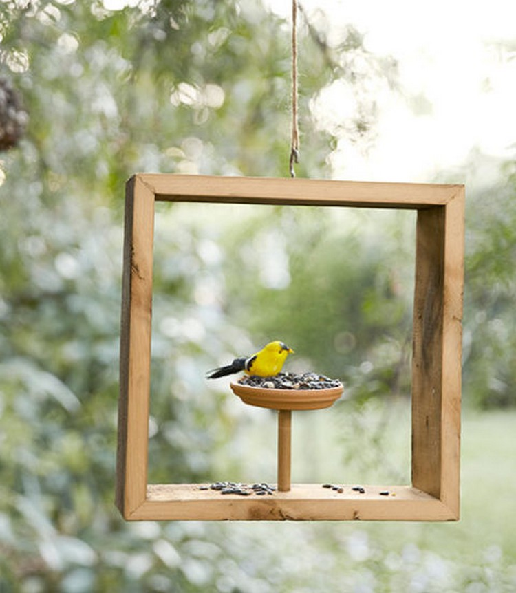 Box Bird Feeder