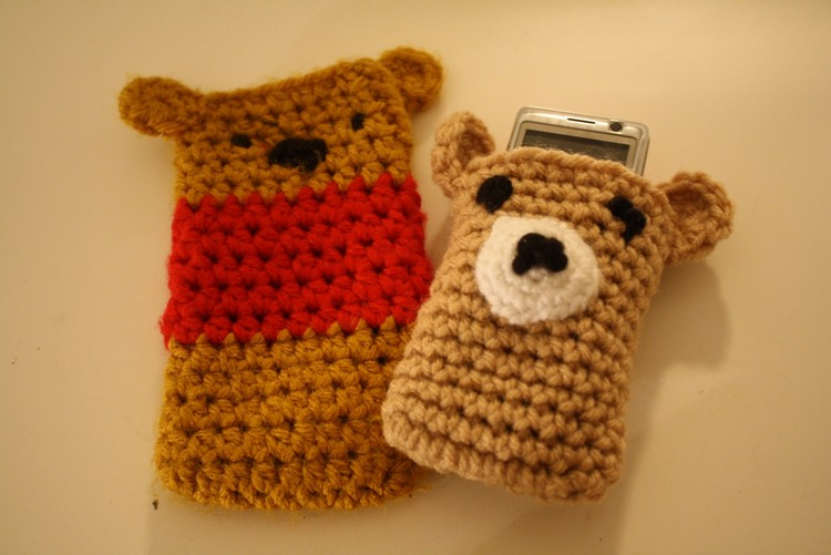 Crochet Mobile Phone Covers