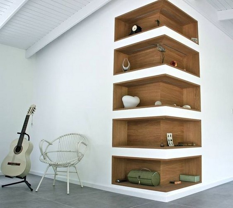 Cute Wall Corner Shelves