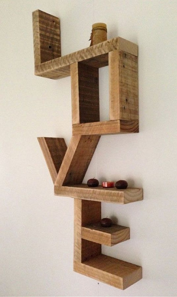 10 Diy Amazing Shelves Recycled Crafts