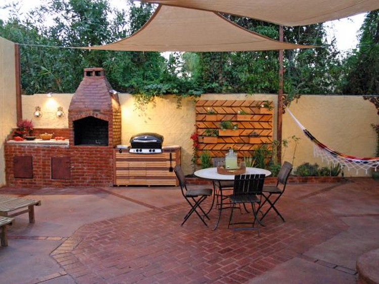 10 wonderful outdoor kitchen ideas recycled things