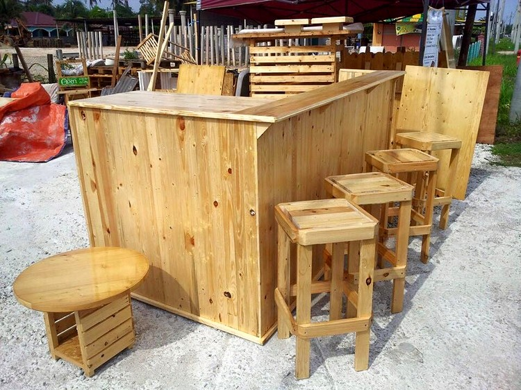 ideas for recycled wood pallet furniture recycled things