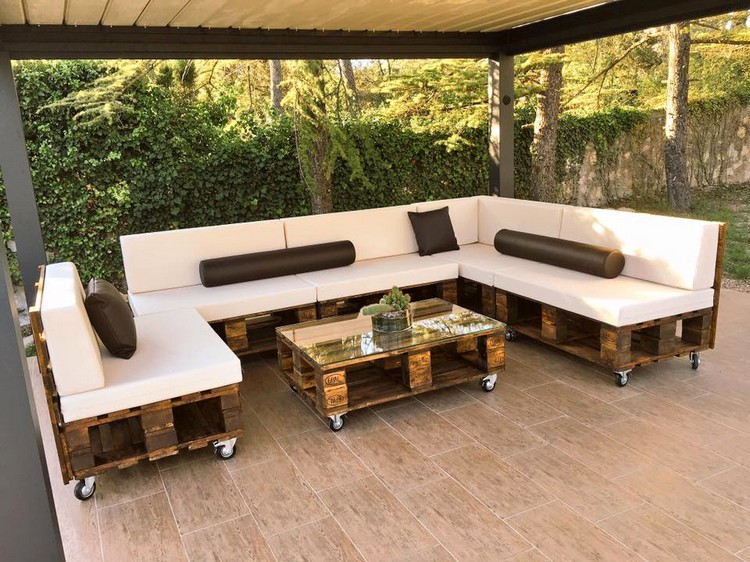 wood pallets furniture. pallet patio modern sofa and table wood pallets furniture