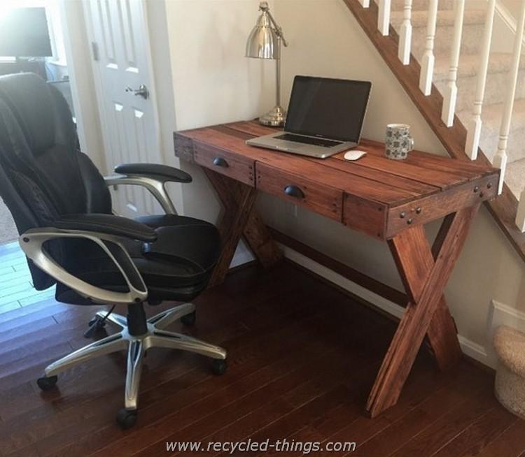 Pallet Pc Desk