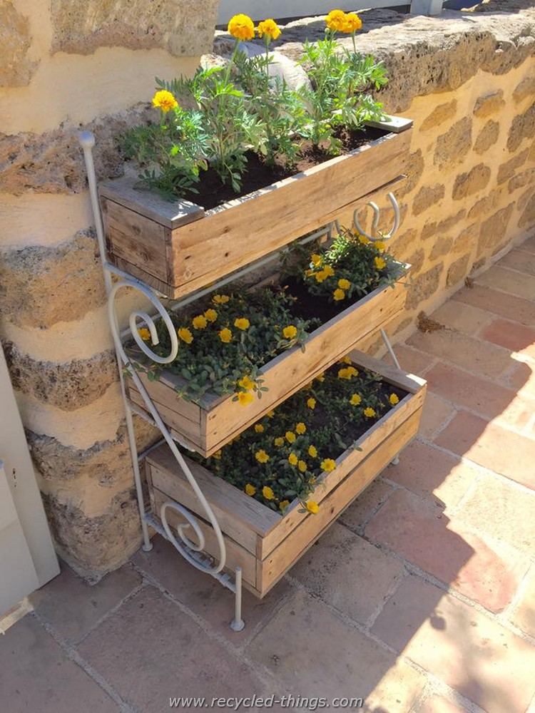 Pallet Wood Projects For Garden Recycled Things