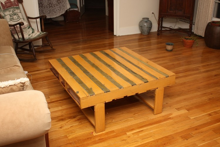 Pallet Ladder Shelf Pallet Outdoor Furniture Pallet Table ...
