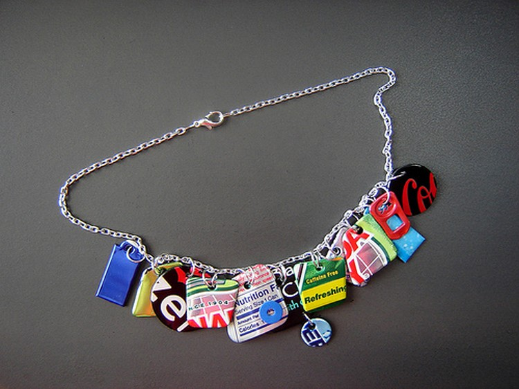 Recycled Necklce