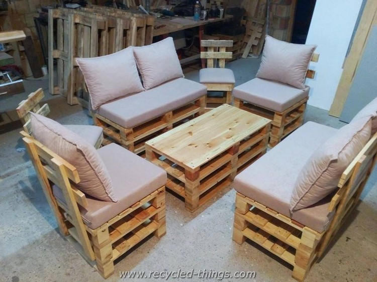 Recycled Wood Pallet Furniture Ideas Recycled Things
