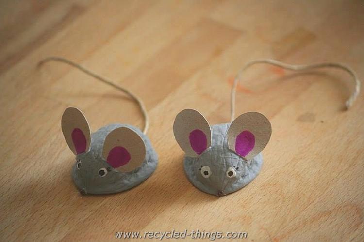 Animals Made with Walnut