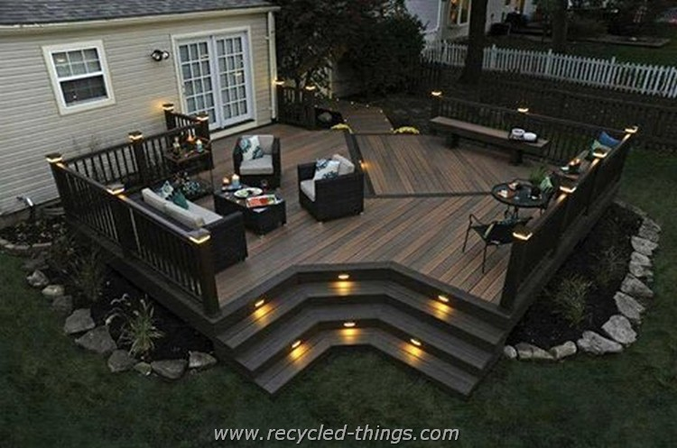 Backyard Deck Ideas gorgeous backyard deck ideas to mesmerize you | recycled things