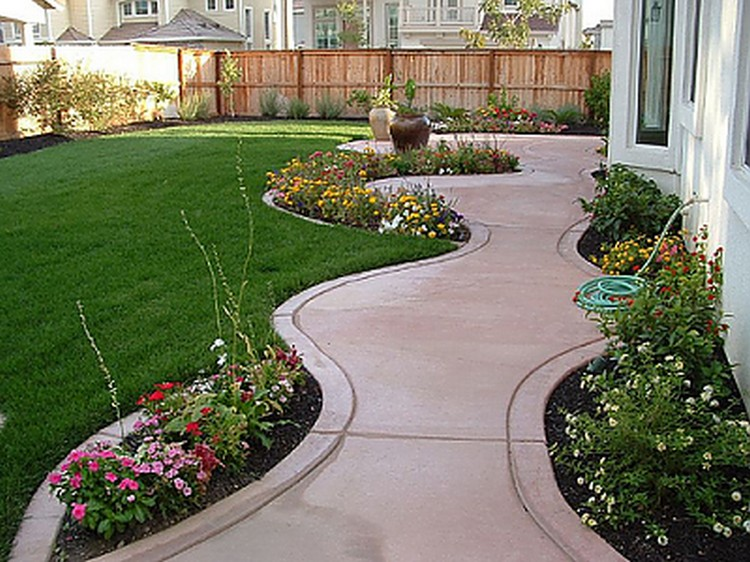 backyard decor ideas refined french backyard garden dcor ideas designs backyard decoration ideas - Backyard Decor