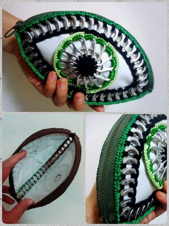DIY Pop Tab Purse