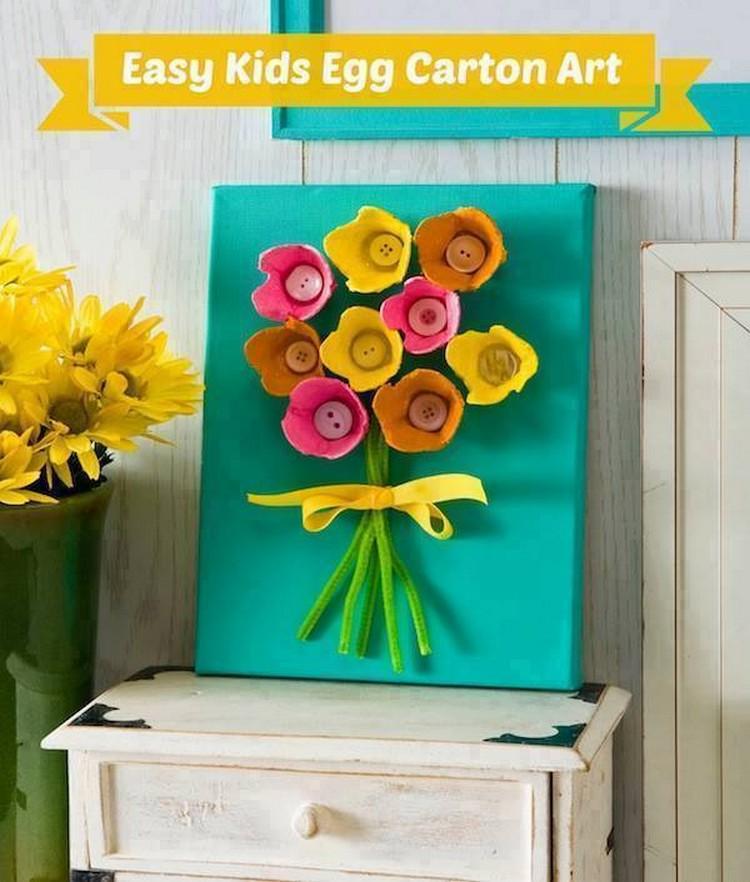 Easy Kids Egg Carton Art