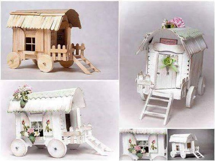 Ice Sticks Doll House