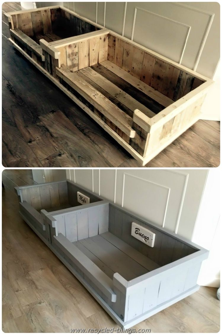 DIY Projects With Wooden Pallets Recycled Things