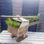 Pallet Helicopter Planter