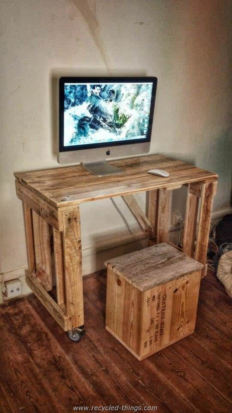 Pallet PC Table