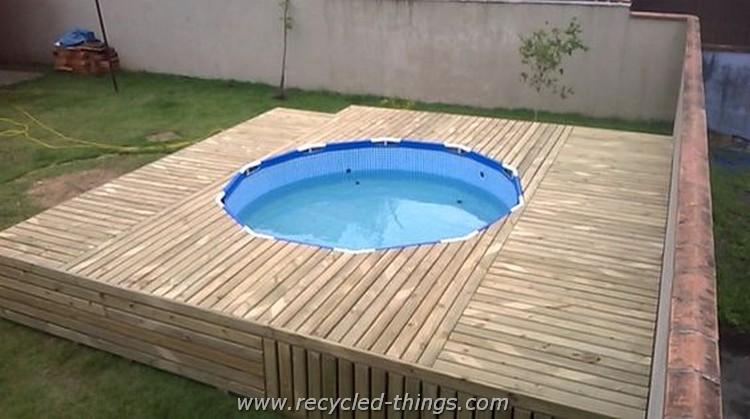 Pallet Patio Swimming Pool