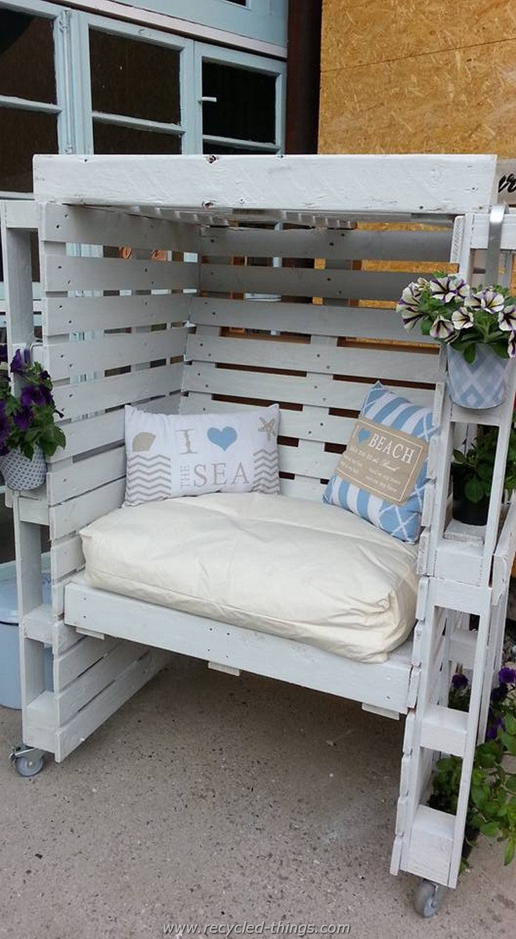 Diy Projects With Wooden Pallets Recycled Things # Muebles Pailets