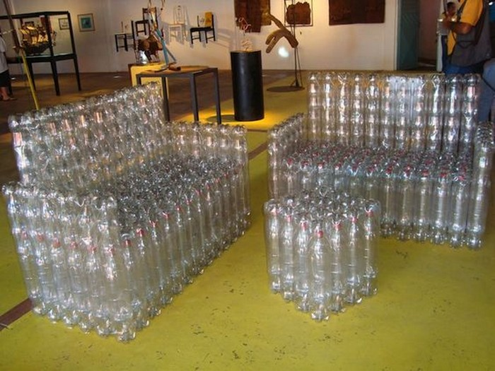 Plastic Bottles Furniture