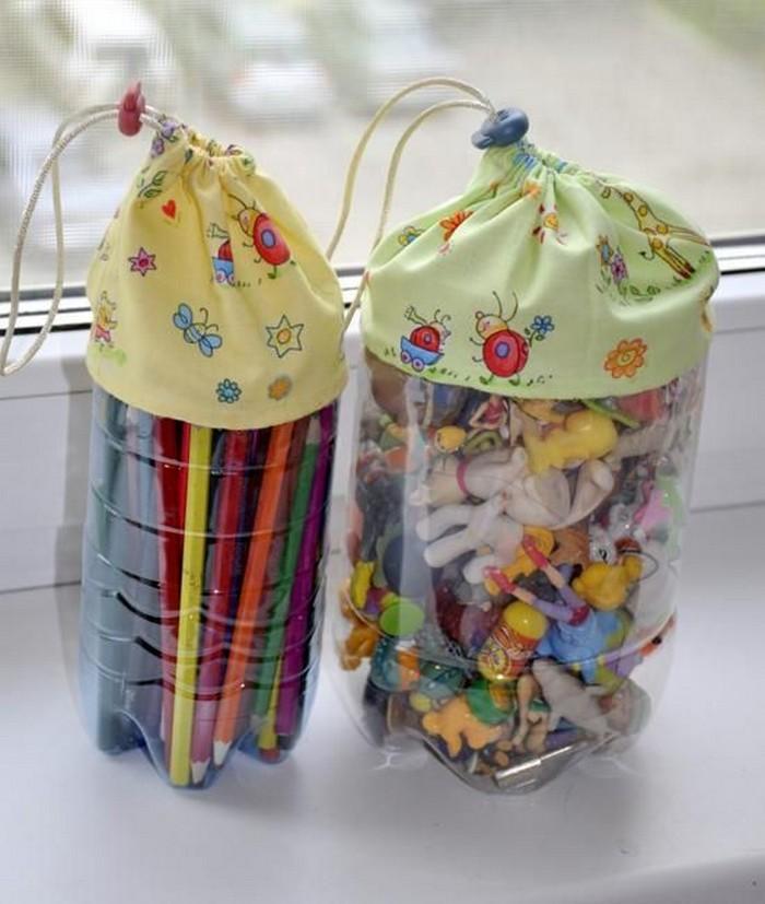 Plastic Bottles Handmade Crafts