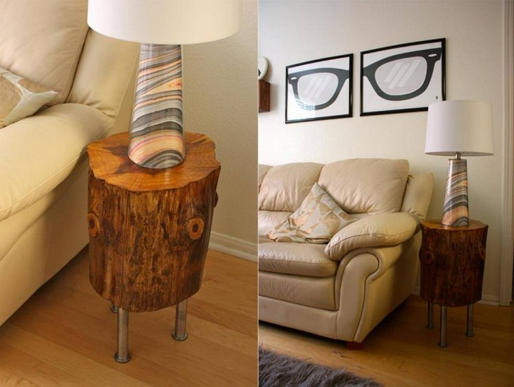 Recycled Tree Trunk