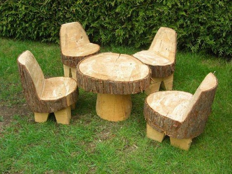 Recycled Tree Trunks Things