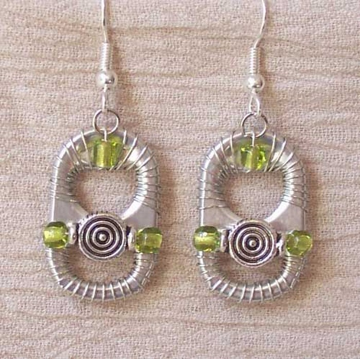 Soda Can Tabs Earrings