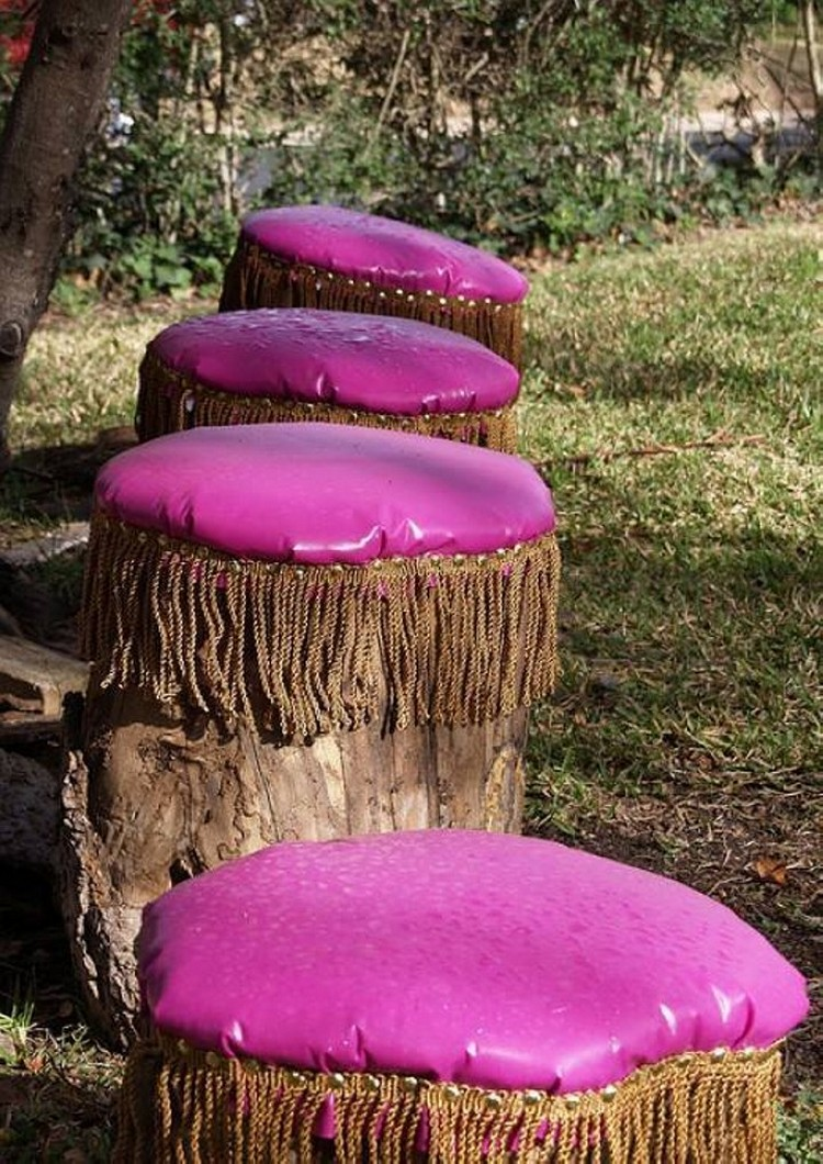 Tree Trunks Stools