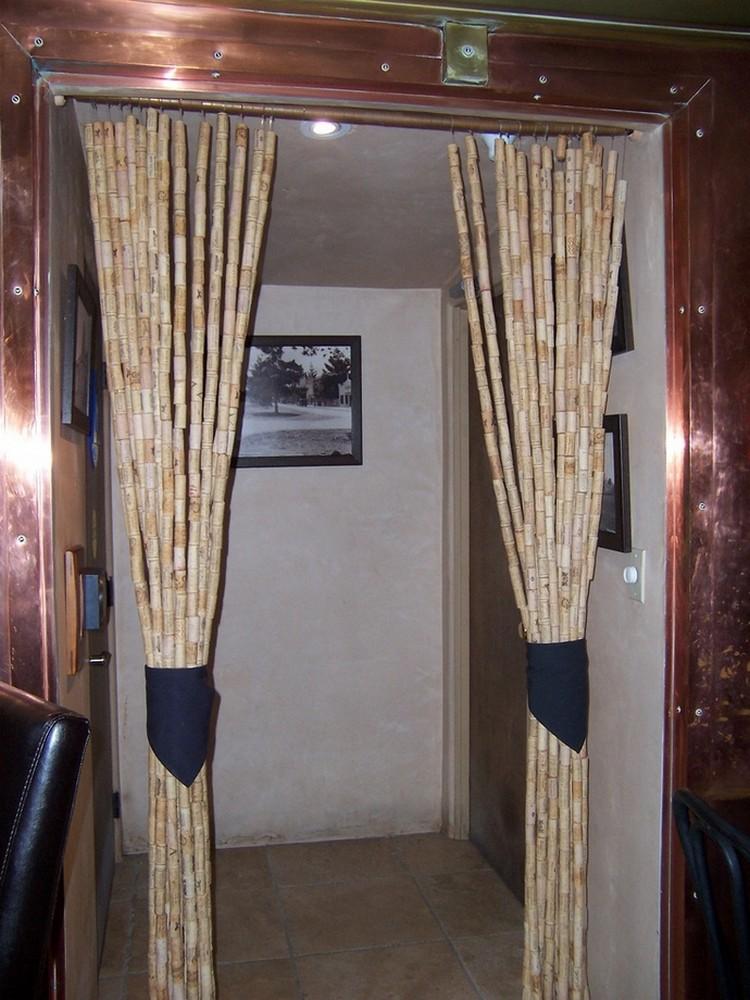 Wine Corks Door Curtain