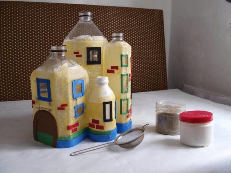 Bottles Doll House