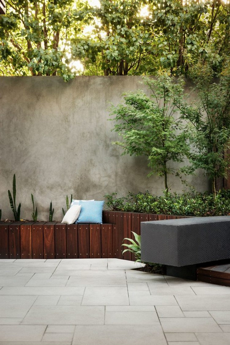 Contemporary Patio Wall Planter