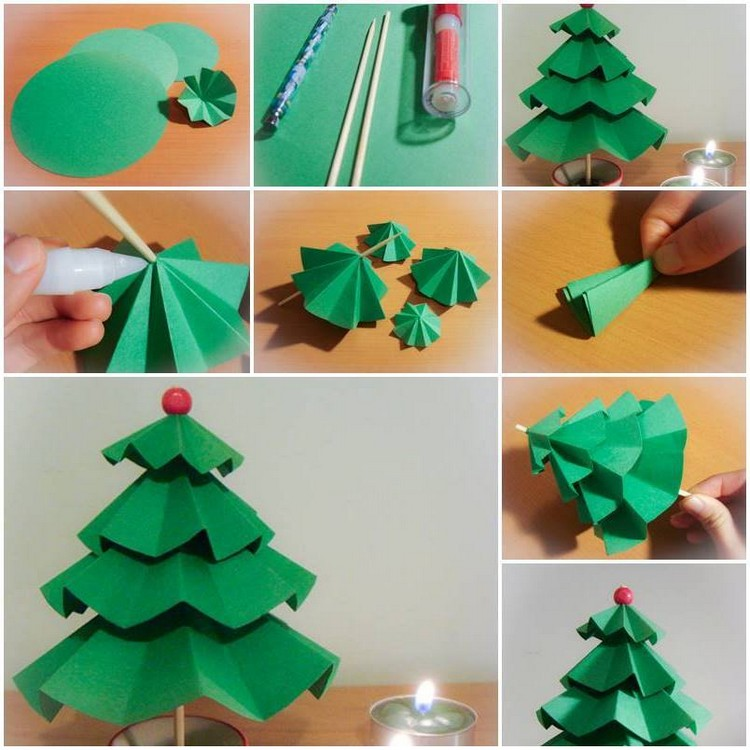 Easy paper folding crafts recycled things Home decor craft step by step