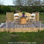 Wood Pallet Outdoor Ideas