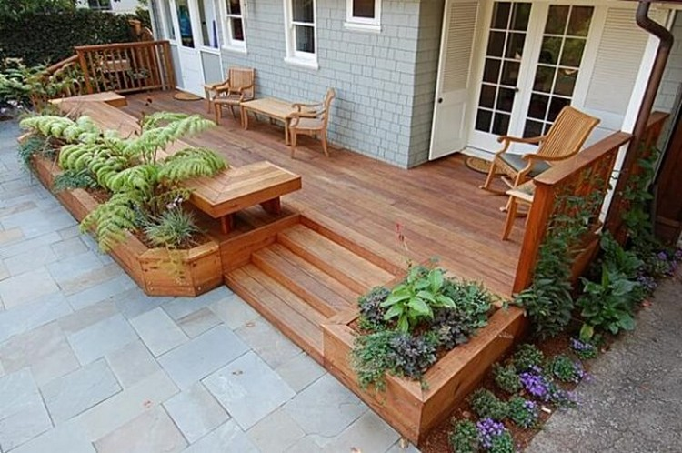 Garden Deck Planters