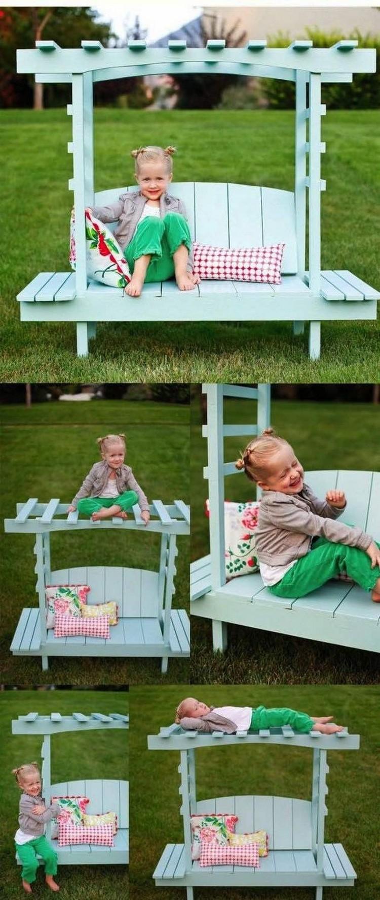 Kids Pallet Furniture Ideas